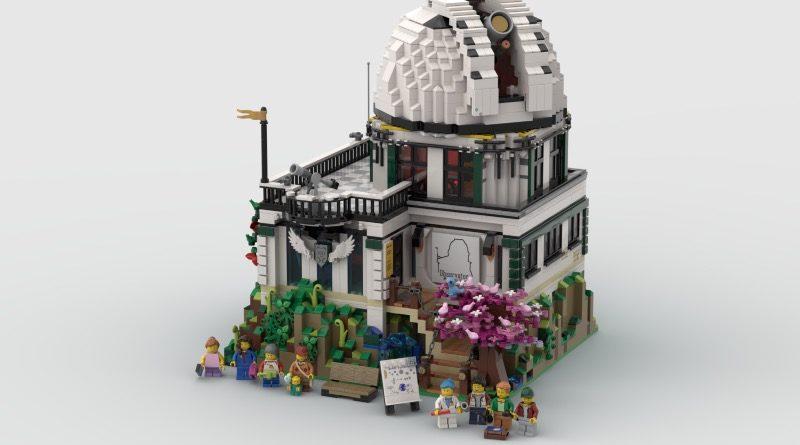 BrickLink Designer Program LEGO Ideas Mountain View Observatory featured