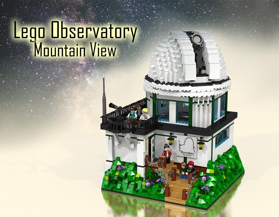 BrickLink Designer Program LEGO Observatory Mountain View