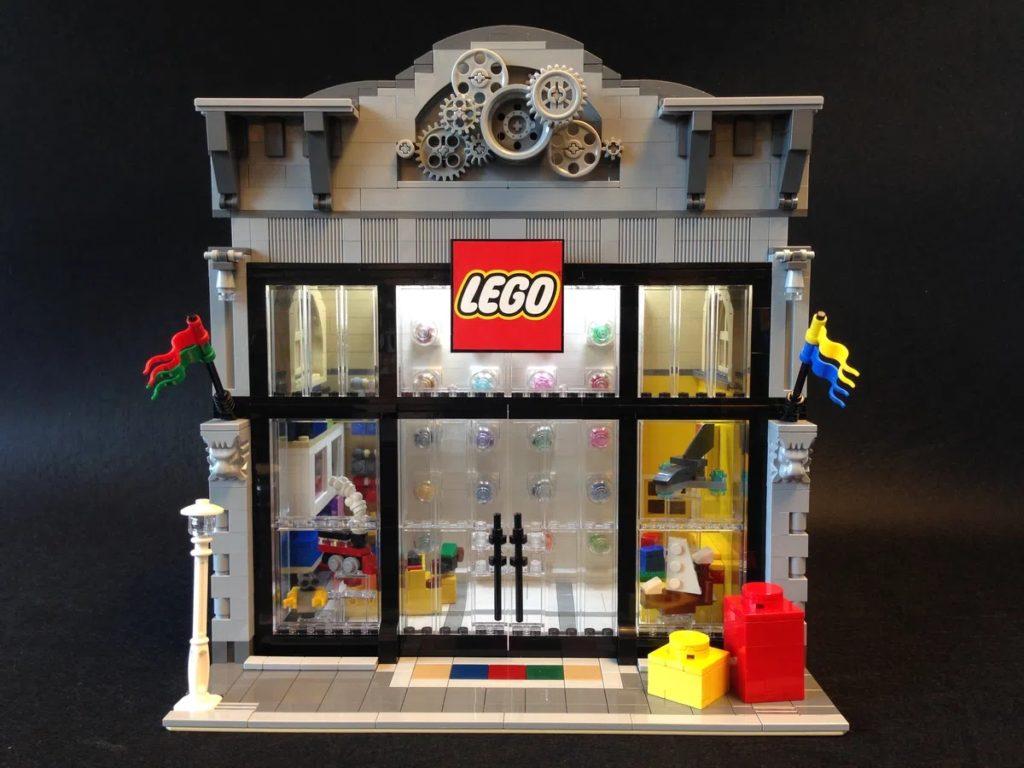 BrickLink დიზაინერების პროგრამა LEGO მაღაზიის მოდულარული ვერსია