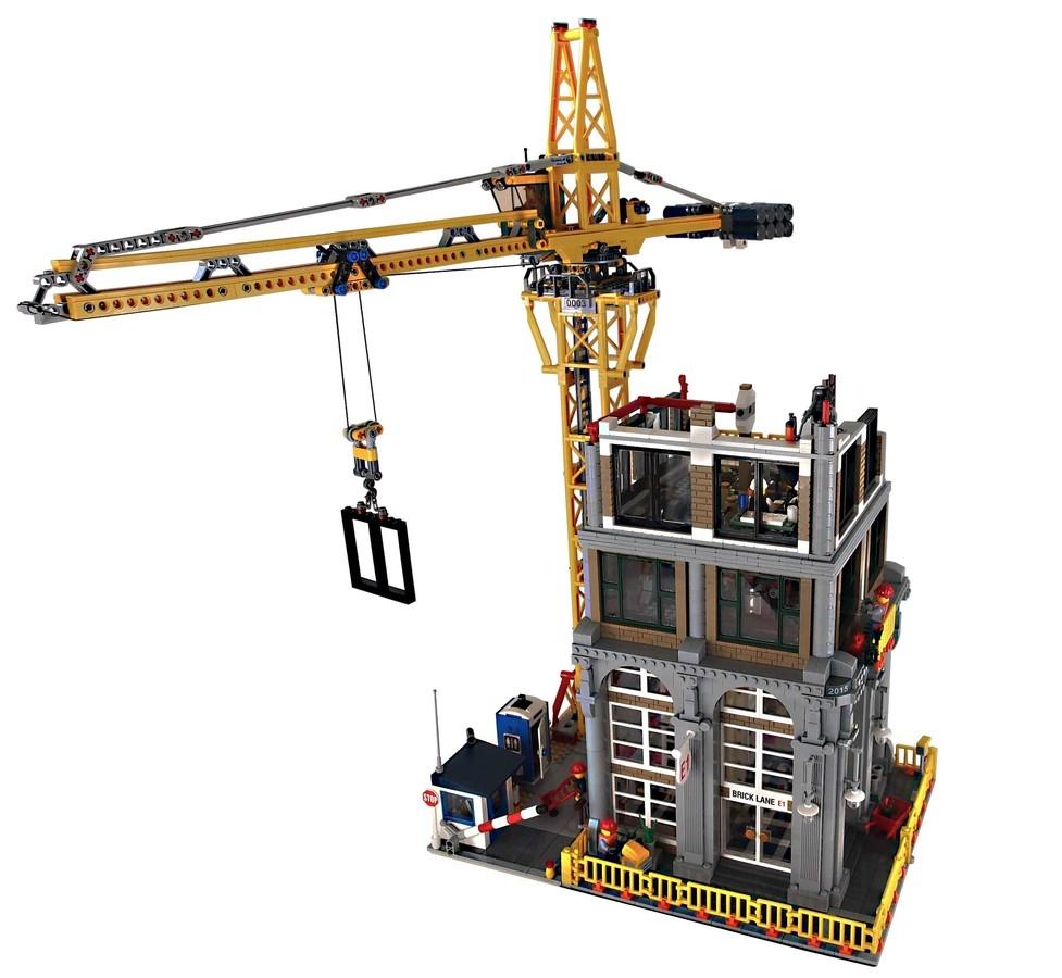 BrickLink Designer Program Modular Construction Site