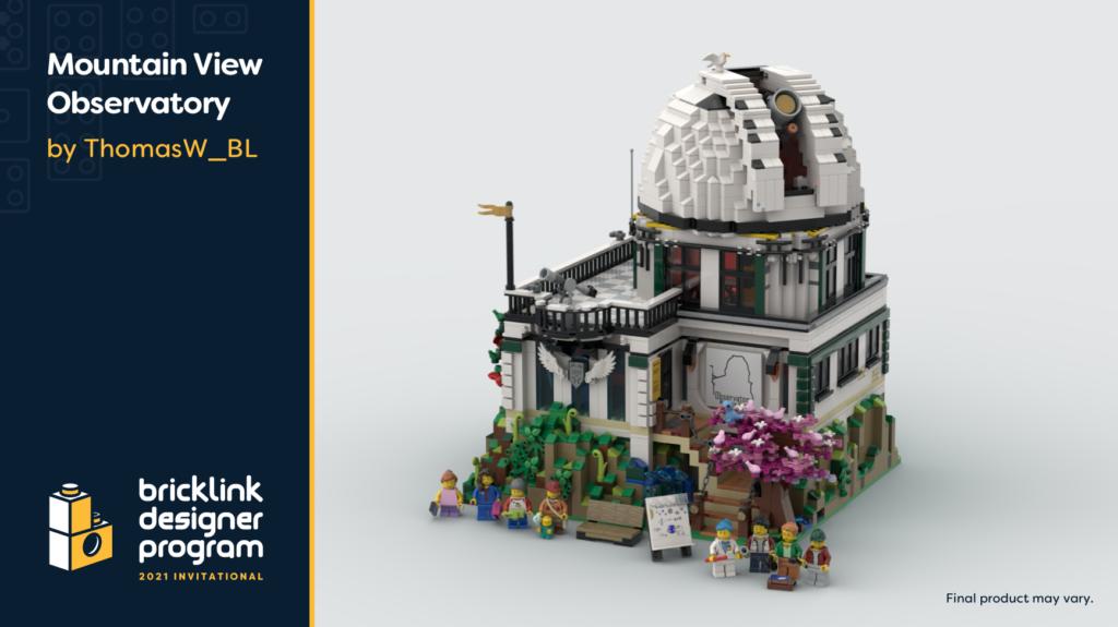 BrickLink Designer Program Mountain View Observatory