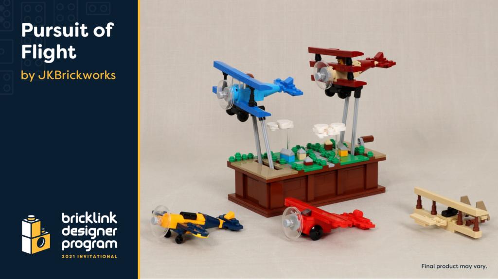 BrickLink Designer Program Pursuit of Flight