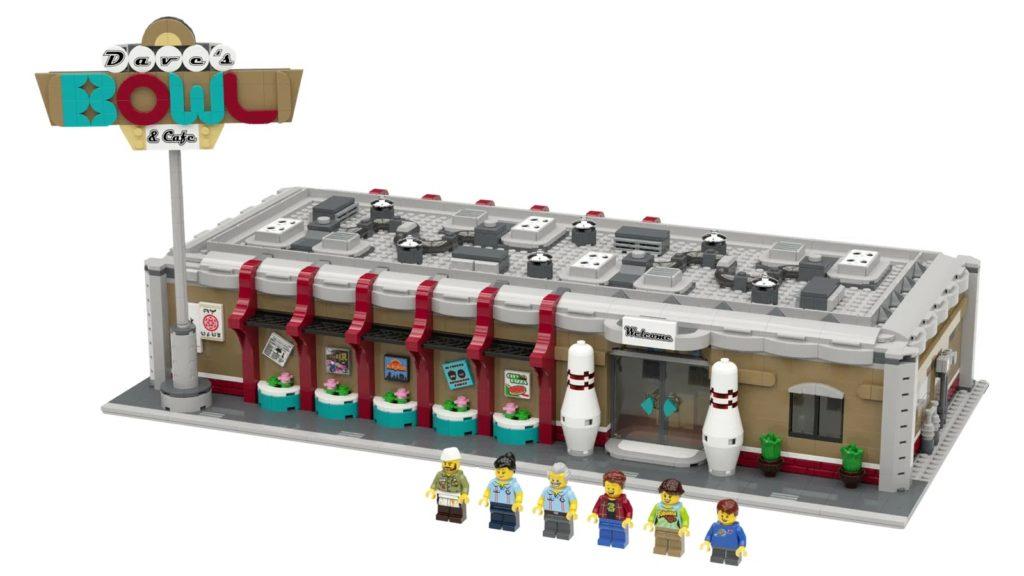 BrickLink დიზაინერების პროგრამა Retro Bowling Alley