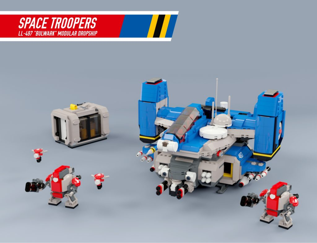 BrickLink Designer Program Space Troopers