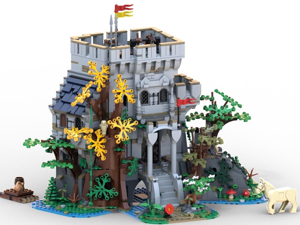BrickLink Designer Program The Castle In The Forest