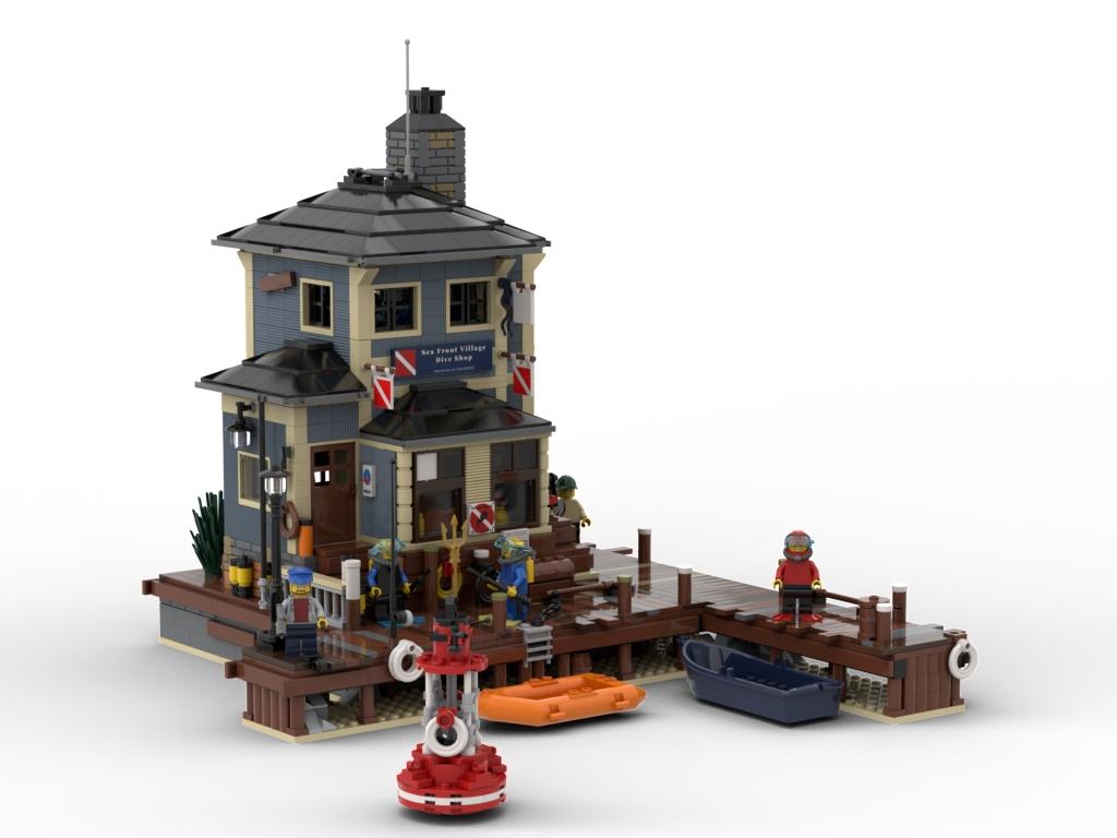 BrickLink Designer Program The Dive Shop