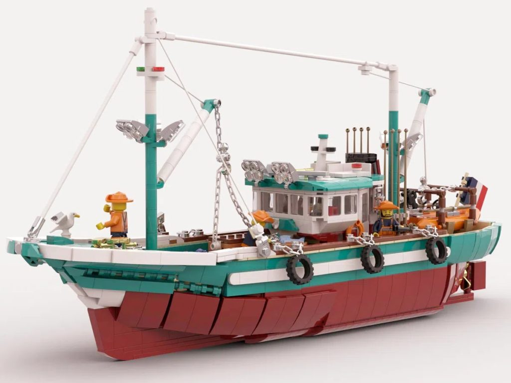 BrickLink Designer Program The Great Fishing Boat