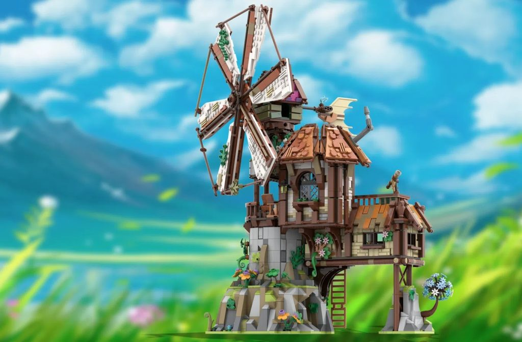 BrickLink დიზაინერების პროგრამა Mountain Windmill