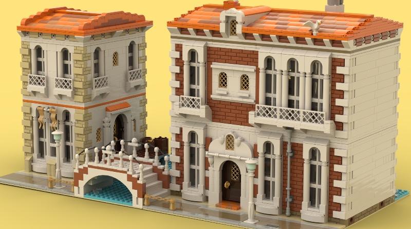 BrickLink Designer Program Venetian Houses Featured