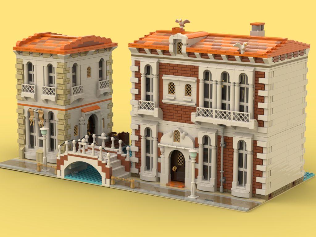 BrickLink Designer Program Venetian Houses