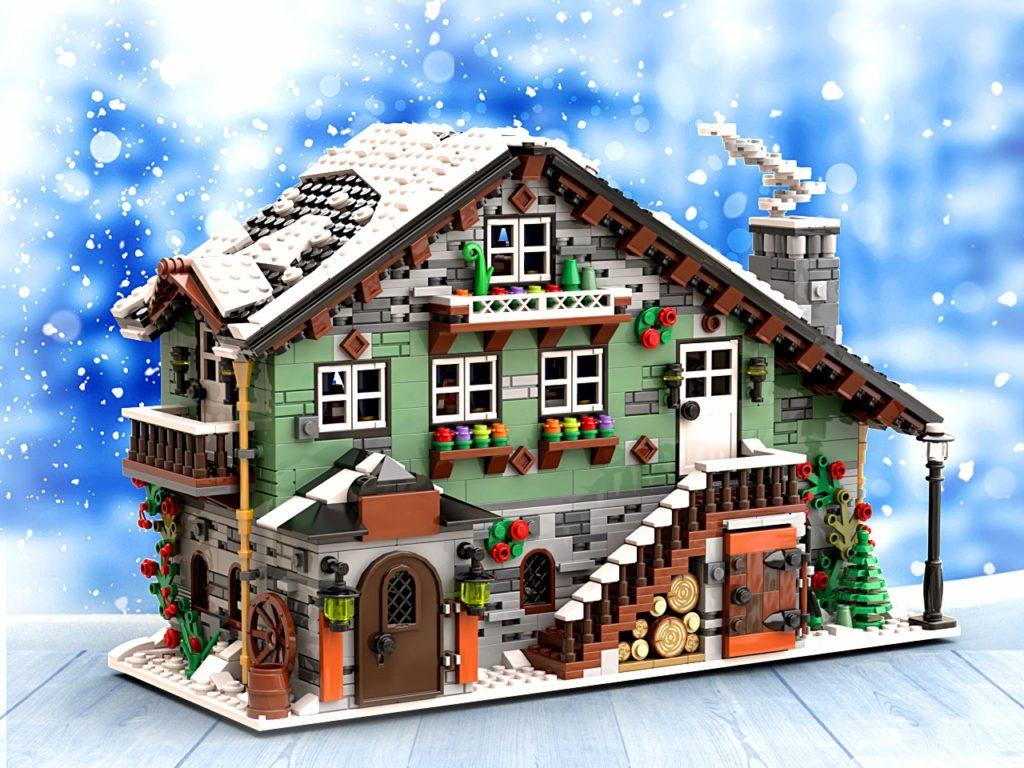 BrickLink Designer Program Winter Chalet