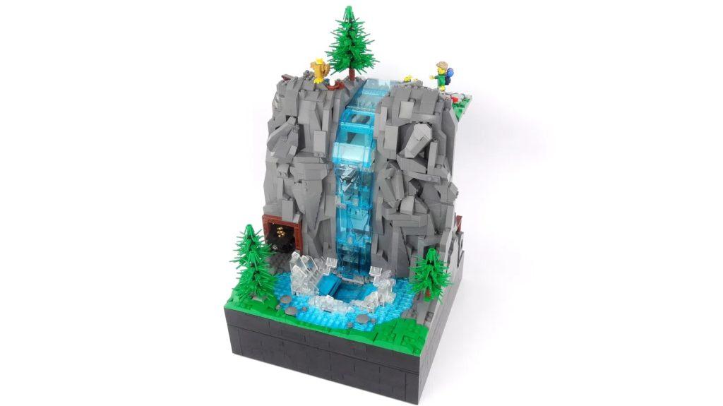 BrickLink Designer Program Working Waterfall