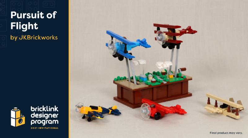 BrickLink Designer Program Pursuit Of Flight LEGO