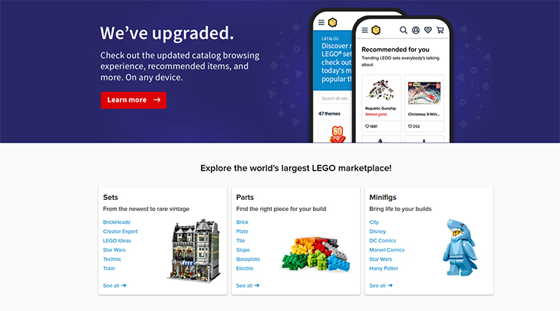 BrickLink Redesign Featured