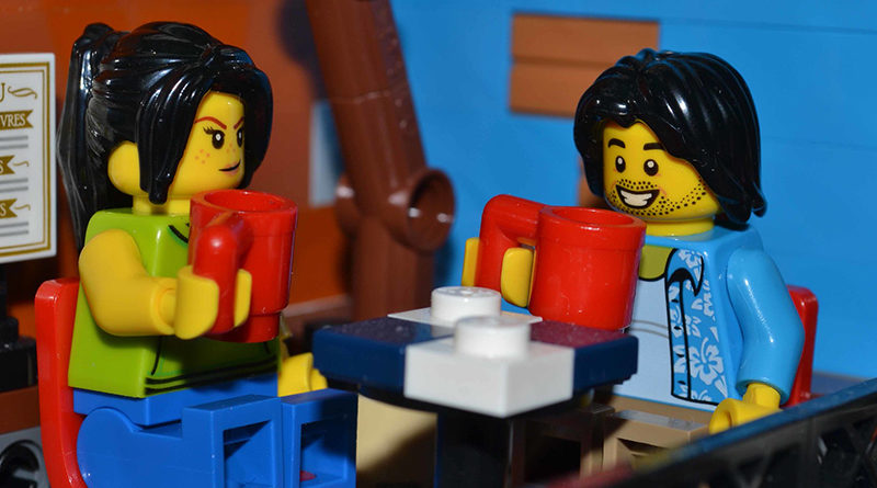 Brick Pic of the Day: Coffee catch up
