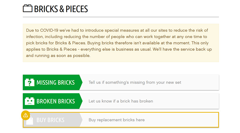 Bricks and Pieces