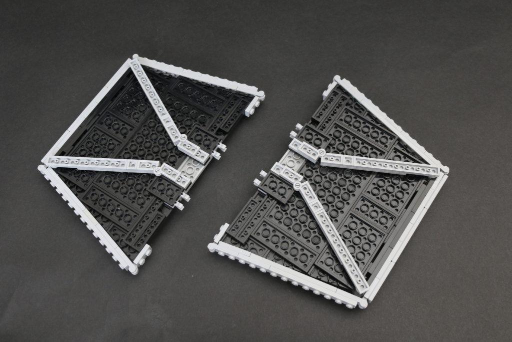 Build A LEGO Mandalorian Outland Folding TIE Fighter 11
