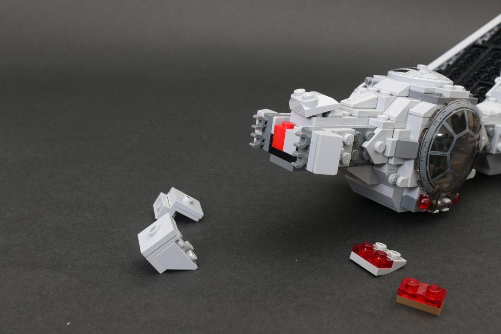 Build A LEGO Mandalorian Outland Folding TIE Fighter 13