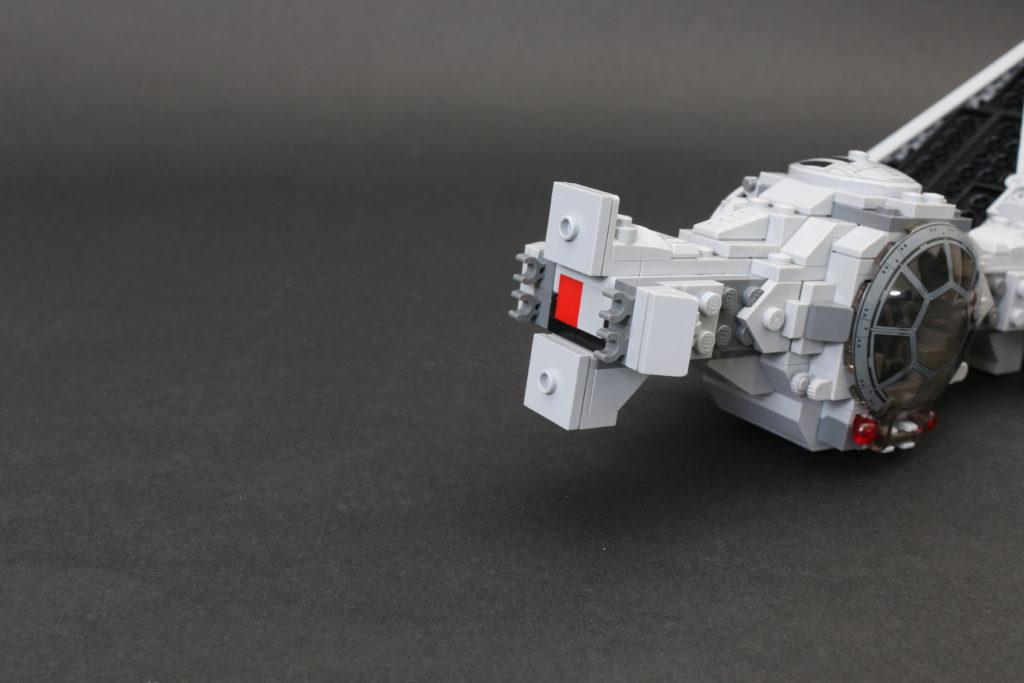 Build A LEGO Mandalorian Outland Folding TIE Fighter 14