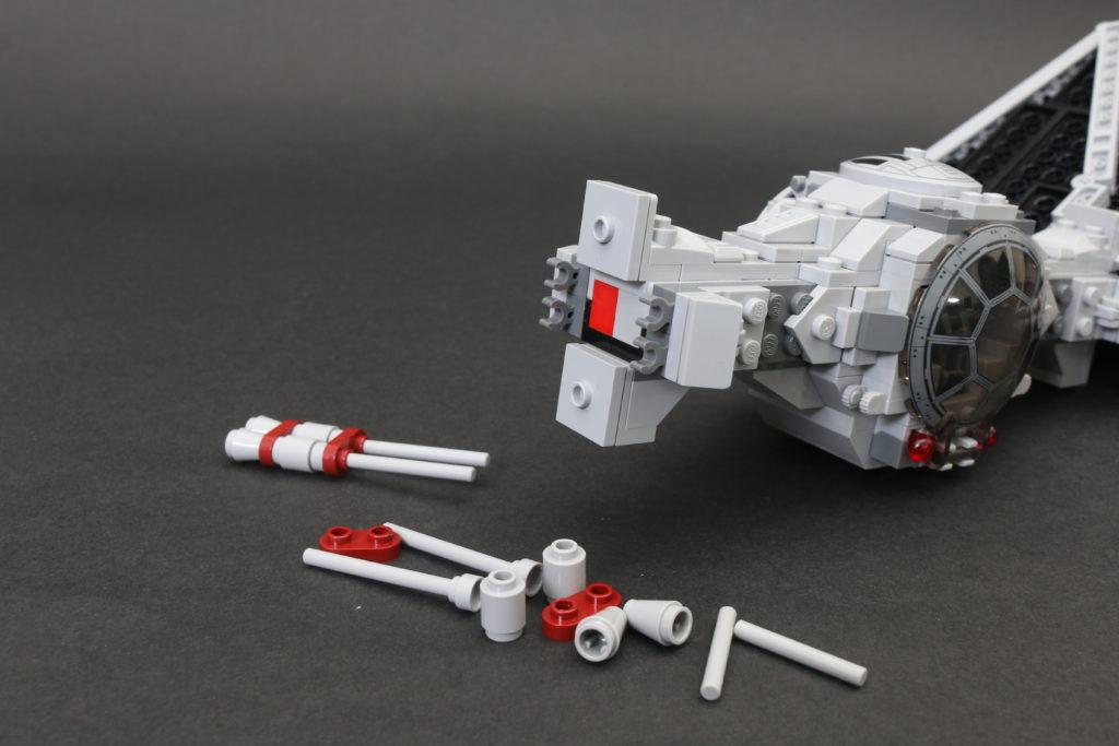 Build A LEGO Mandalorian Outland Folding TIE Fighter 15