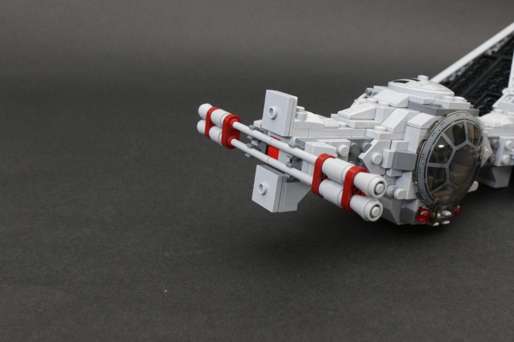 Build A LEGO Mandalorian Outland Folding TIE Fighter 18