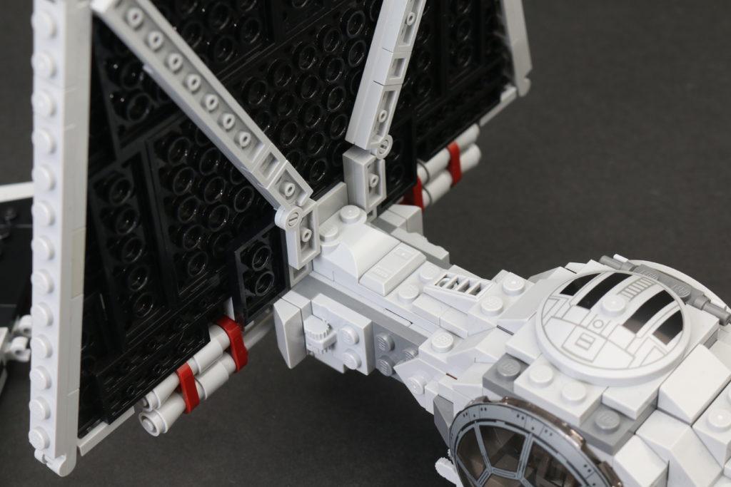 Build A LEGO Mandalorian Outland Folding TIE Fighter 21