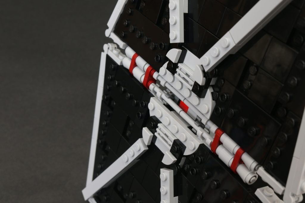 Build A LEGO Mandalorian Outland Folding TIE Fighter 22