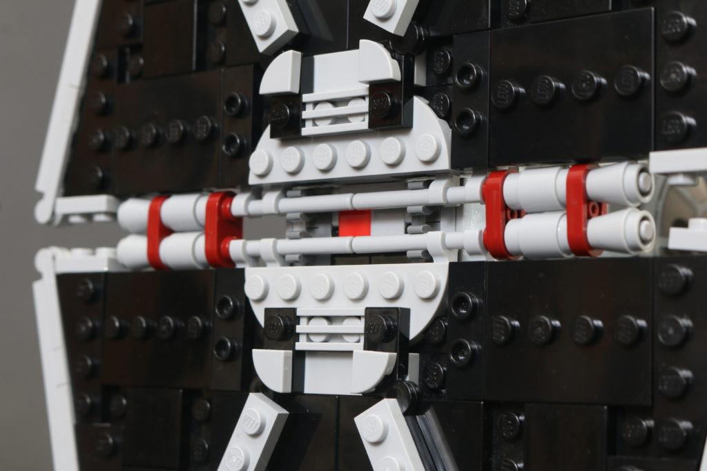 Build A LEGO Mandalorian Outland Folding TIE Fighter 23