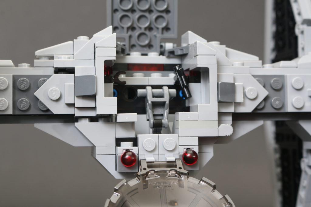 Build A LEGO Mandalorian Outland Folding TIE Fighter 25