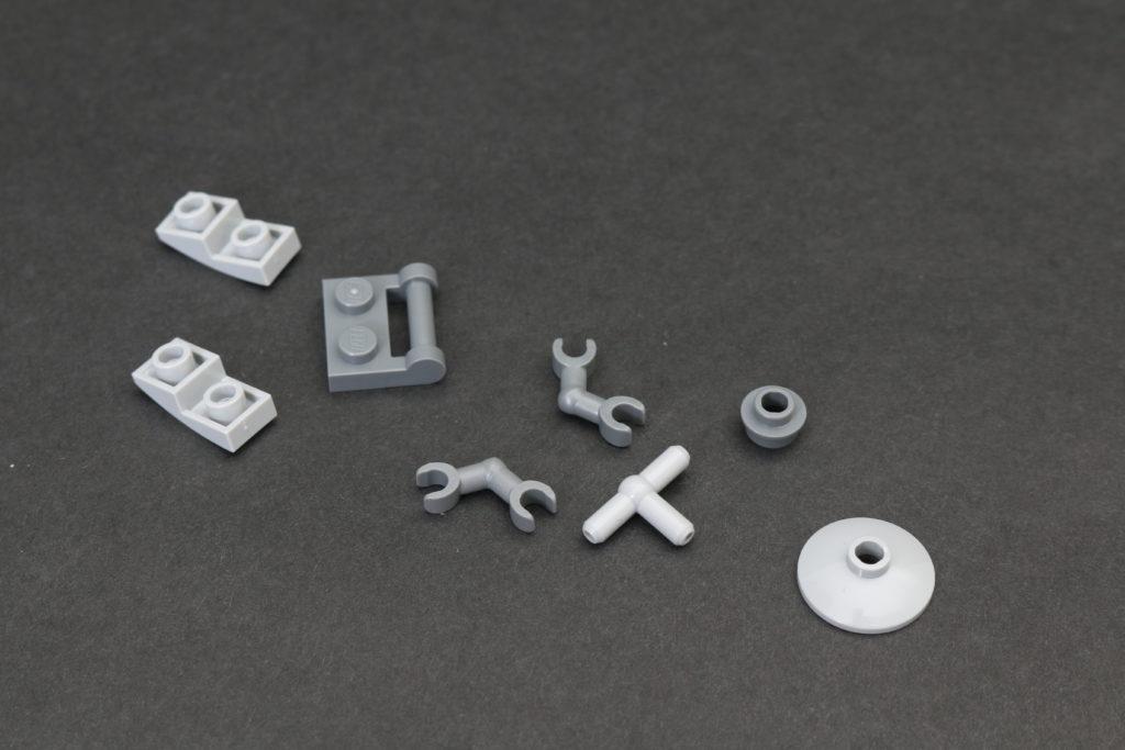 Build A LEGO Mandalorian Outland Folding TIE Fighter 29