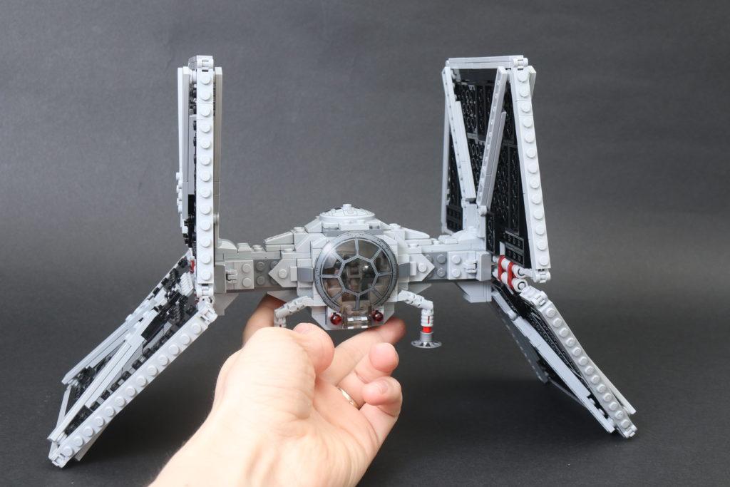 Build A LEGO Mandalorian Outland Folding TIE Fighter 42
