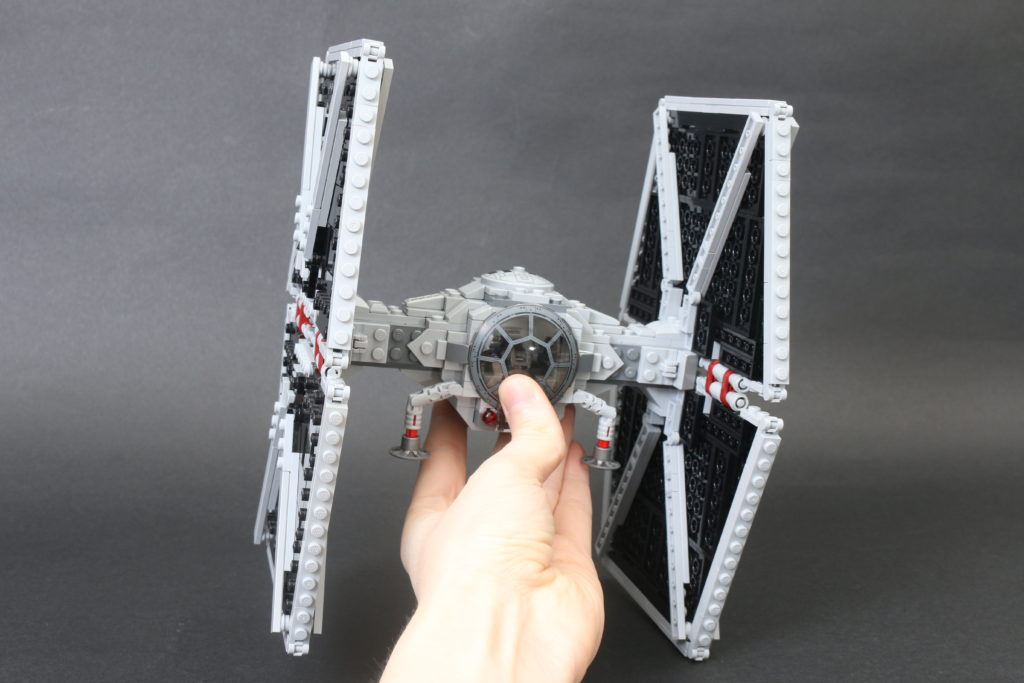 Build A LEGO Mandalorian Outland Folding TIE Fighter 43