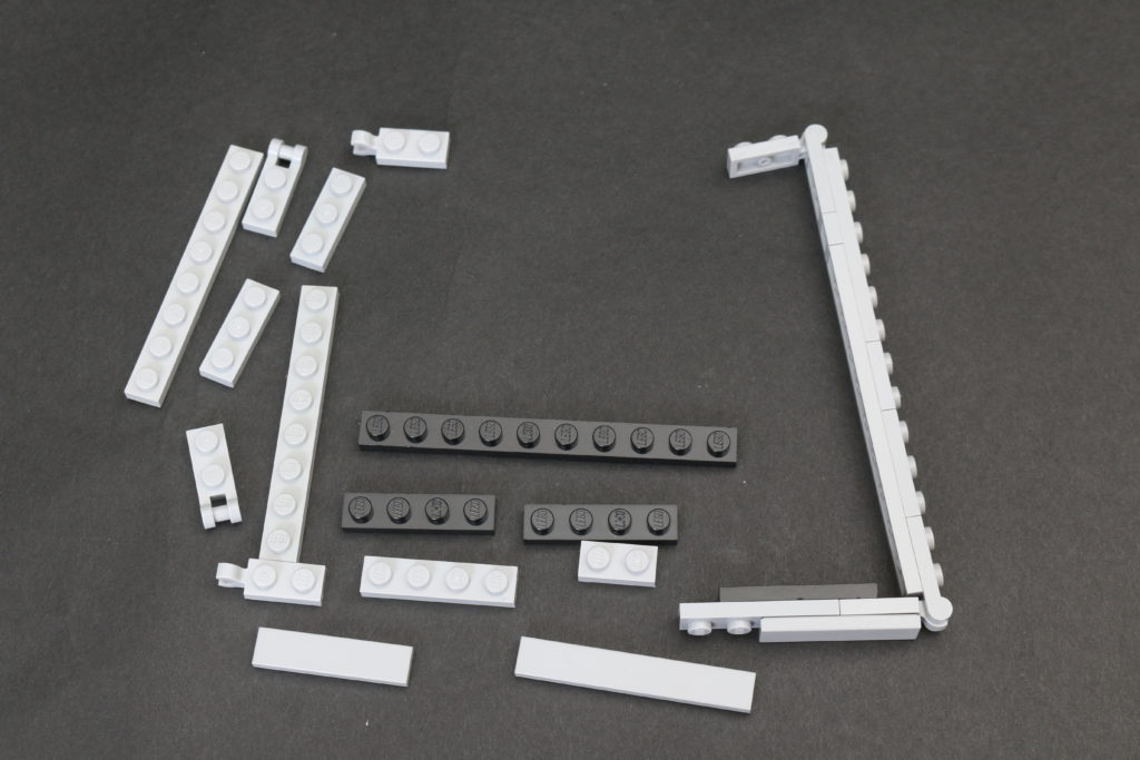Build A LEGO Mandalorian Outland Folding TIE Fighter 5