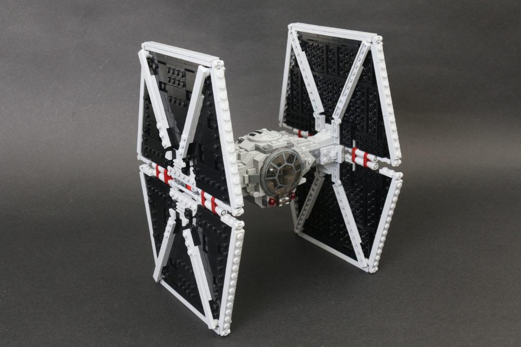 Build A LEGO Mandalorian Outland Folding TIE Fighter 51