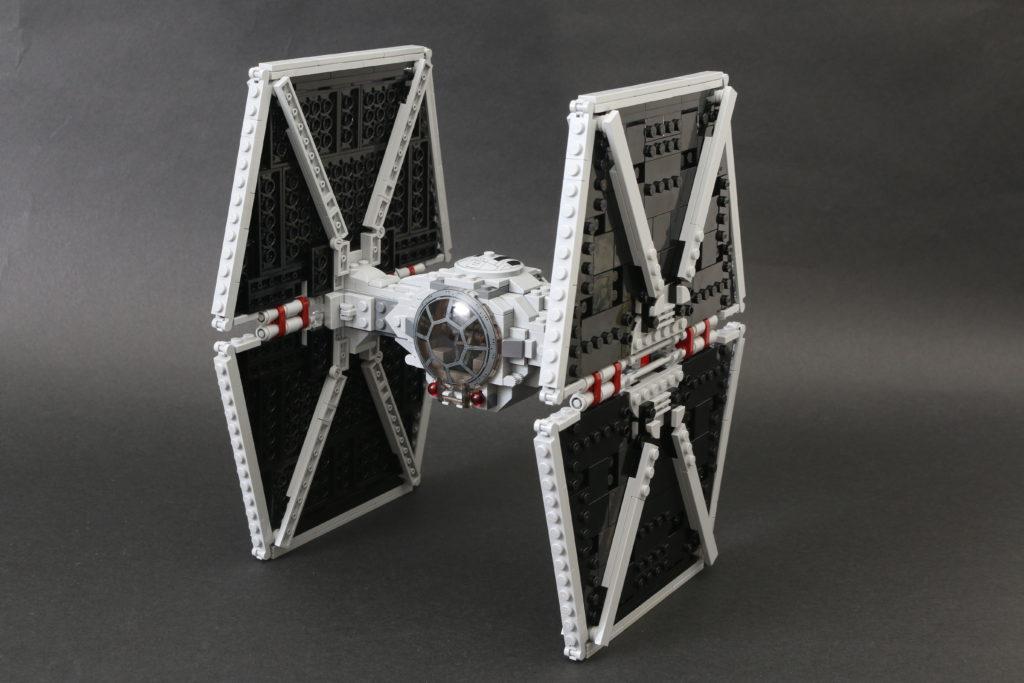 Build A LEGO Mandalorian Outland Folding TIE Fighter 52