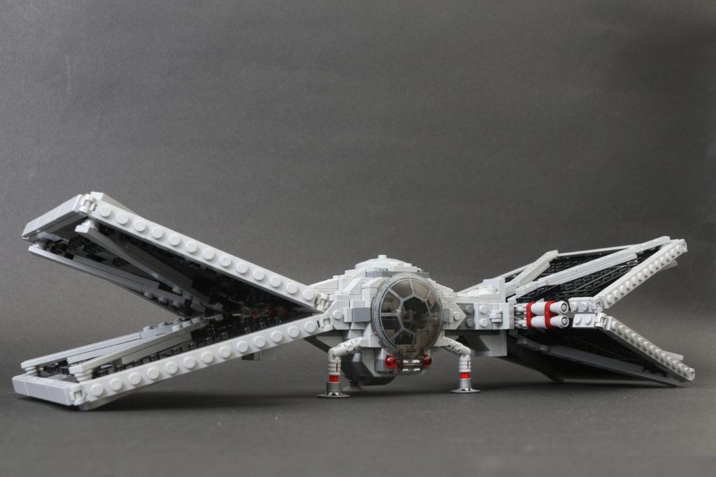 Build A LEGO Mandalorian Outland Folding TIE Fighter 55i 1