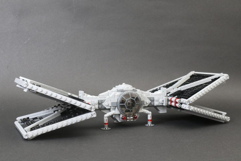 Build A LEGO Mandalorian Outland Folding TIE Fighter 57