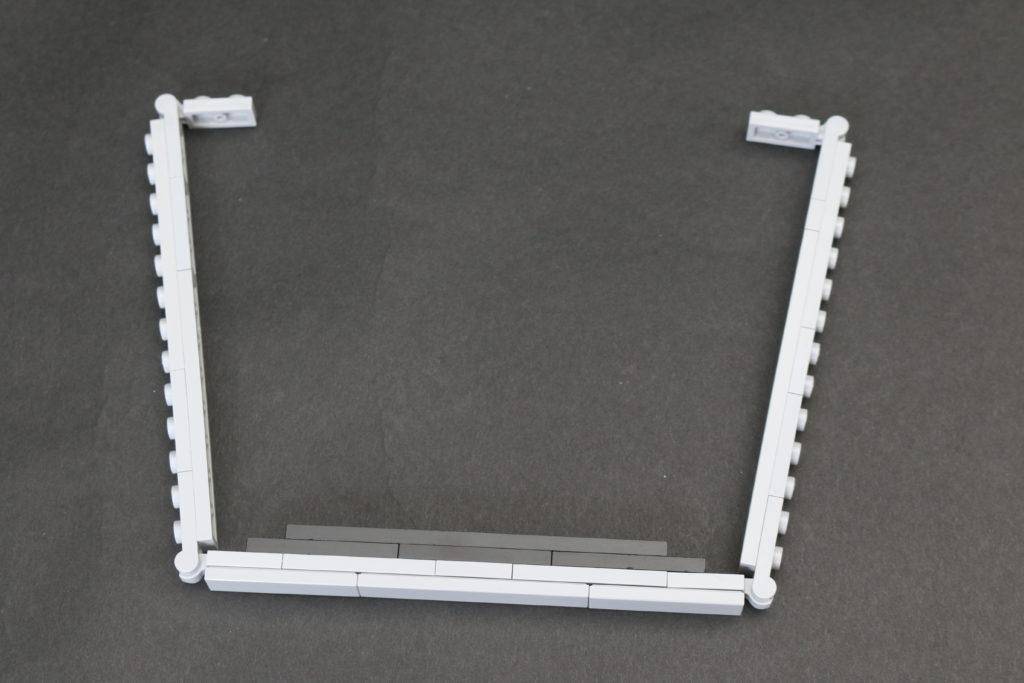Build A LEGO Mandalorian Outland Folding TIE Fighter 6