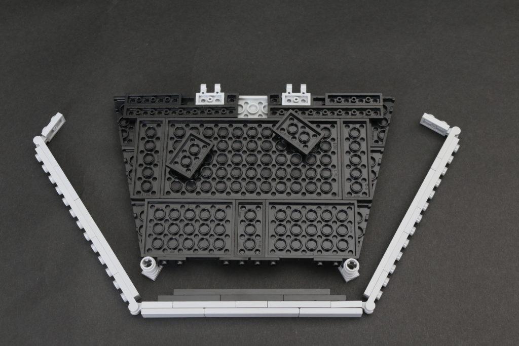 Build A LEGO Mandalorian Outland Folding TIE Fighter 7