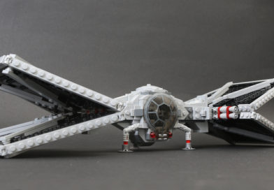 Build a LEGO Star Wars: The Mandalorian folding Outland TIE Fighter