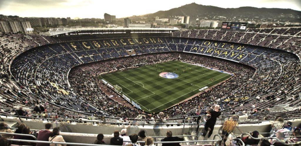 Camp Nou FC Barcelona 2015