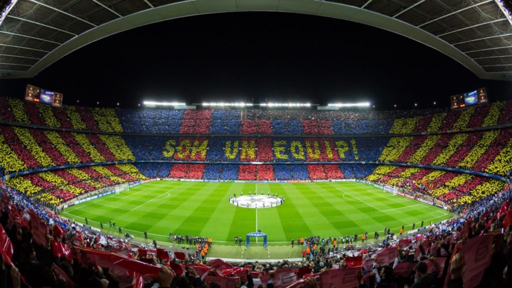 Camp Nou FC Barcelona Champions League