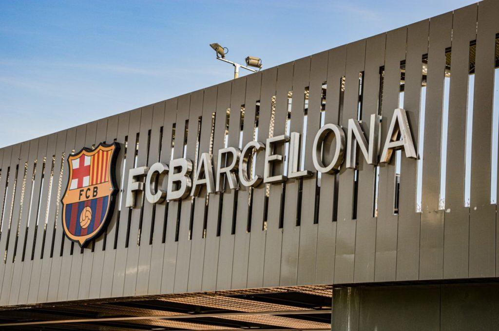 Camp Nou FC Barcelona logo