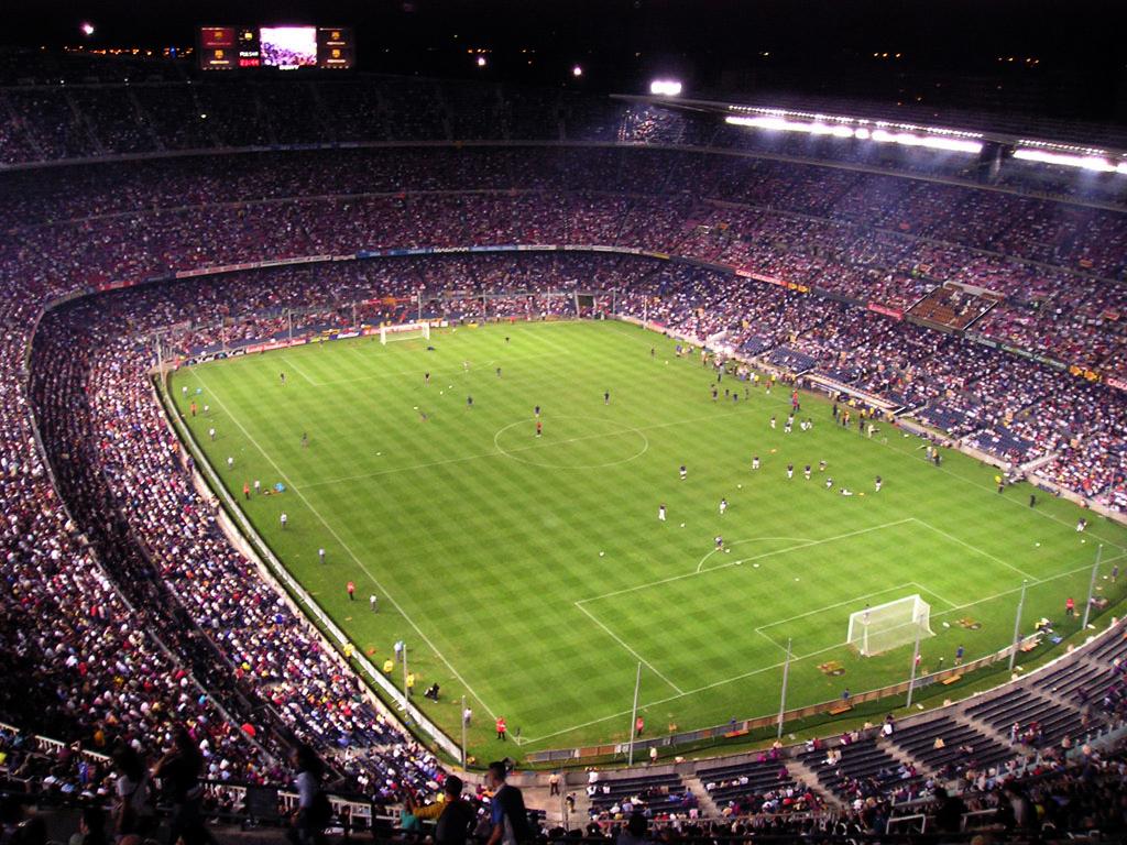 Camp Nou FC Barcelona match