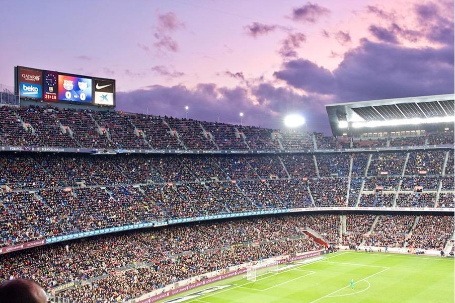 Camp Nou FC Barcelona stands