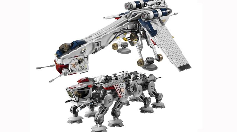Catawiki LEGO Republic Gunship AT OT Walker Featured