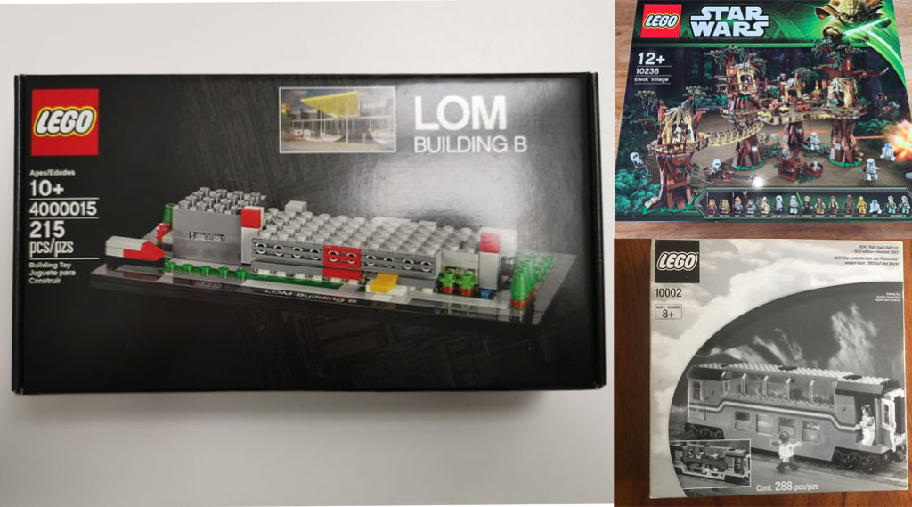 Rarities, oddities and retired LEGO sets up for auction