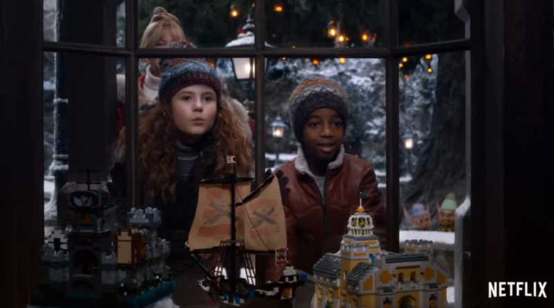 The Christmas Chronicles 2 features a classic LEGO set