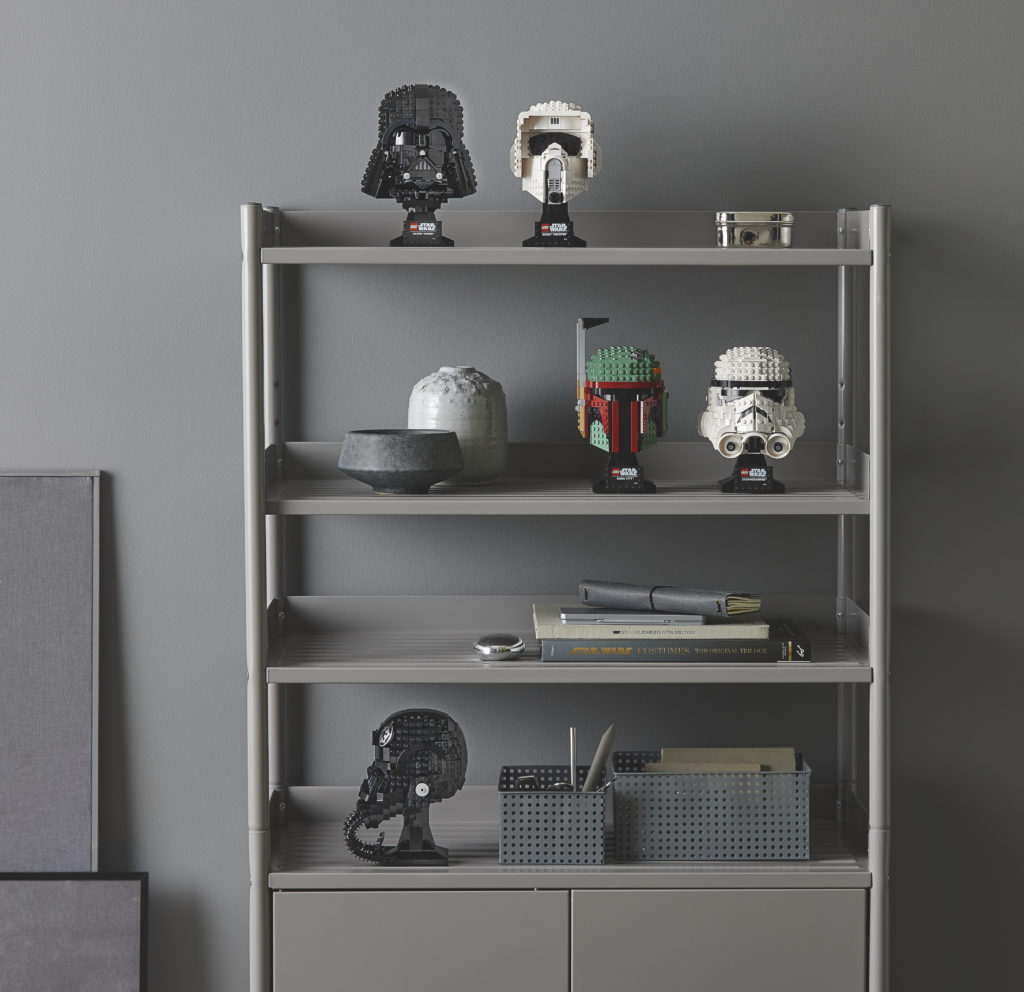 Complete LEGO Star Wars Helmet Collection 1