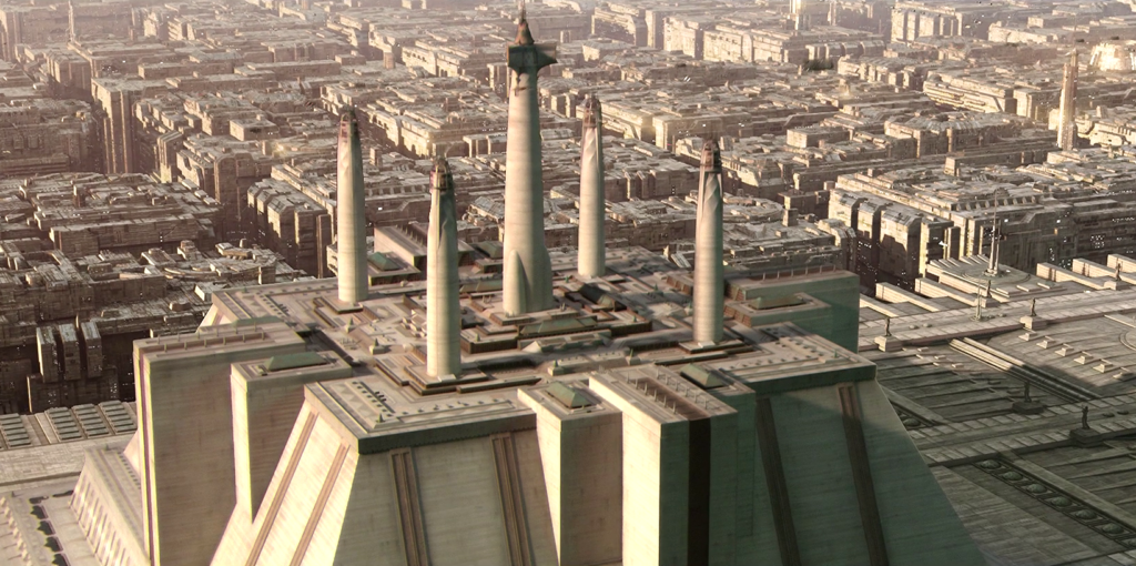 Coruscant Jedi Temple Star Wars